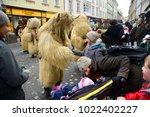 ljubljana  slovenia on february ...   Shutterstock . vector #1022402227