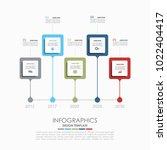 infographic template. vector...   Shutterstock .eps vector #1022404417