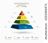 infographic template. vector... | Shutterstock .eps vector #1022404471