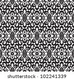 seamless lace pattern on white... | Shutterstock .eps vector #102241339