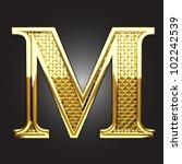 golden figure made in vector | Shutterstock .eps vector #102242539