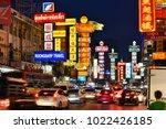 bangkok  thailand   jan 24 ... | Shutterstock . vector #1022426185
