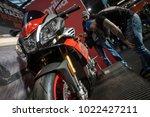 berlin  germany   february 10 ... | Shutterstock . vector #1022427211