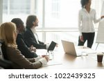 diverse business people... | Shutterstock . vector #1022439325