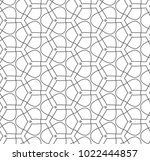 seamless vector pattern in... | Shutterstock .eps vector #1022444857
