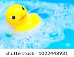 Yellow Rubber Duck Floating In...