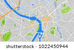 map city toulouse | Shutterstock .eps vector #1022450944