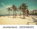 Sunny Day On Copacabana Beach...