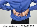 pretty woman suffers from... | Shutterstock . vector #1022472757