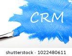 crm   customer relationship... | Shutterstock . vector #1022480611