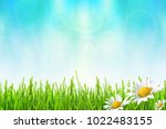 spring or summer abstract... | Shutterstock . vector #1022483155