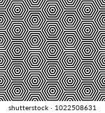 hexagons pattern. seamless... | Shutterstock .eps vector #1022508631