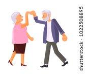 healthy active lifestyle... | Shutterstock .eps vector #1022508895