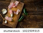 cooking spicy peppers jalape o... | Shutterstock . vector #1022509315