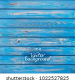 wood plank blue background | Shutterstock .eps vector #1022527825