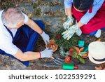 gardening concept....   Shutterstock . vector #1022539291