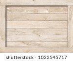 side of old brown wooden crate  ... | Shutterstock . vector #1022545717