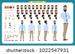 people character business set.... | Shutterstock .eps vector #1022547931
