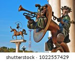 minsk  belarus   2017... | Shutterstock . vector #1022557429