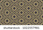 seamless pattern in authentic... | Shutterstock .eps vector #1022557981