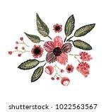 vector illustration. floral... | Shutterstock .eps vector #1022563567