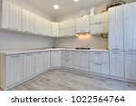 kitchen with appliances and a... | Shutterstock . vector #1022564764