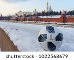 january 22  2018. moscow ... | Shutterstock . vector #1022568679