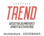 vector sans serif condensed...   Shutterstock .eps vector #1022584465