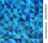Blue Seamless Triangle...