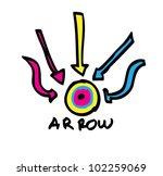 arrow color | Shutterstock .eps vector #102259069