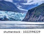 hubbard glacier close up in... | Shutterstock . vector #1022598229