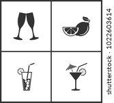vector illustration set medical ... | Shutterstock .eps vector #1022603614