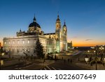 madrid  spain   january 22 ... | Shutterstock . vector #1022607649
