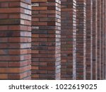 perspective diagonal view on... | Shutterstock . vector #1022619025