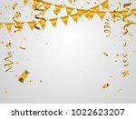 gold vector illustration... | Shutterstock .eps vector #1022623207