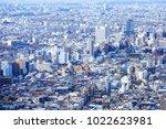 shinjuku  tokyo  japan  ... | Shutterstock . vector #1022623981