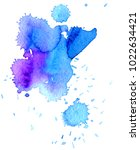 colorful abstract watercolor... | Shutterstock .eps vector #1022634421