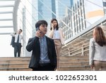 young business people using... | Shutterstock . vector #1022652301