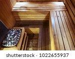 interior of small home finnish... | Shutterstock . vector #1022655937