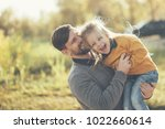family time. father and little... | Shutterstock . vector #1022660614