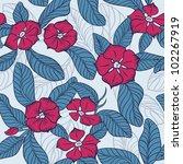 tree flowers background   Shutterstock .eps vector #102267919