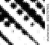 abstract grunge grid polka dot... | Shutterstock . vector #1022707831
