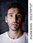 close up portrait of a... | Shutterstock . vector #1022709727