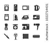 vector image of set of... | Shutterstock .eps vector #1022714431