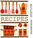 illustration of kitchen... | Shutterstock .eps vector #102271759