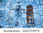 Wooden Window Of Central Churc...