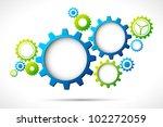 illustration of abstract web... | Shutterstock .eps vector #102272059