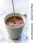 Small photo of Hot chocolate with hot cocoa