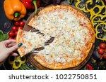 national italian meal.... | Shutterstock . vector #1022750851