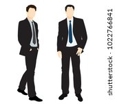 vector silhouettes of men ... | Shutterstock .eps vector #1022766841